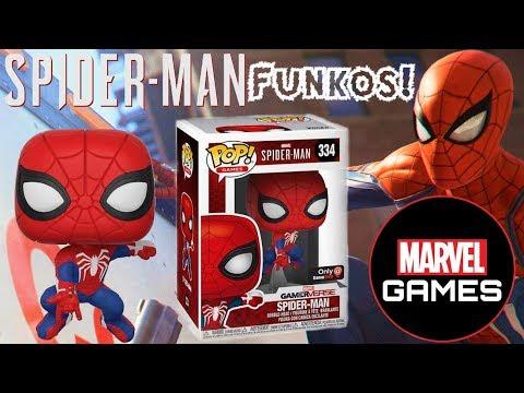 SPIDER-MAN PS4 FUNKO POP OFFICIALLY REVEALED!!! MARVEL GAMERVERSE TEASED?!?