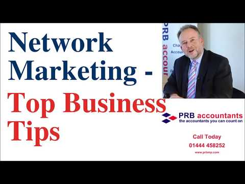 Network Marketing Accountancy Specialists - Top Business Tips For Network Marketers