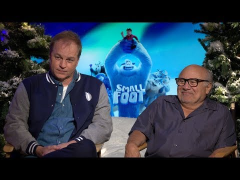 SMALLFOOT with Danny Devito & Karey Kirkpatrick | Interview Mp3