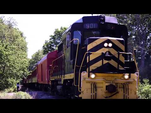 ALL ABOARD THE LM&M RAILROAD