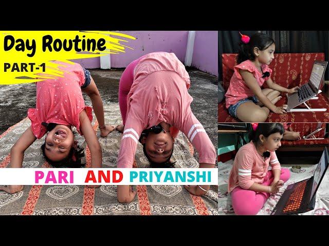 Daily Routine with Priyanshi Di / PART-1 / #LearnWithPari #learnwithpriyanshi