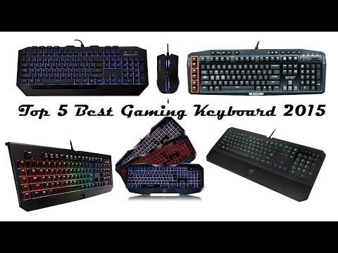 Top Gaming Keyboards 2015