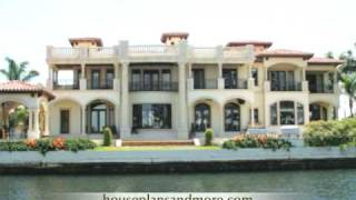 Waterfront Houses Video 2 | House Plans And More