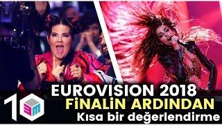 Eurovision 2018 - Finalin Ardından Kısa Bir Değerlendirme