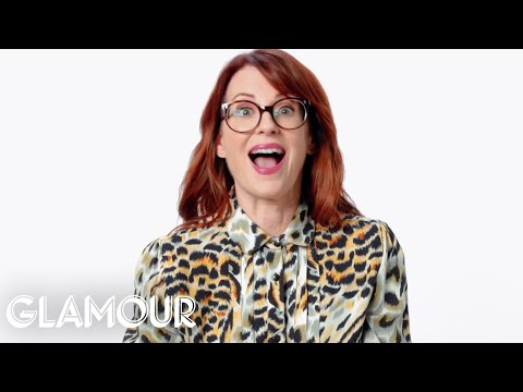 Megan Mullally Reacts to OldFashioned Sex Advice  Glamour