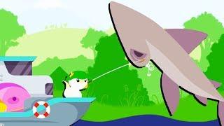 HAMMERHEAD SHARK and LUXURY BOAT! - Cat Goes Fishing Gameplay