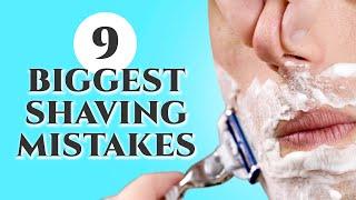 9 Biggest Shaving Mistakes & How to Avoid Them - Advice on Razors & Techniques for Men