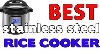 Best Stainless Steel Rice Cooker - Instant Pot DUO Plus 6 Qt 9-in-1 Multi Use Programmable