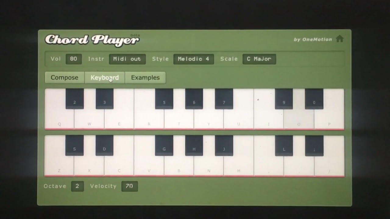 Chord Player   YouTube