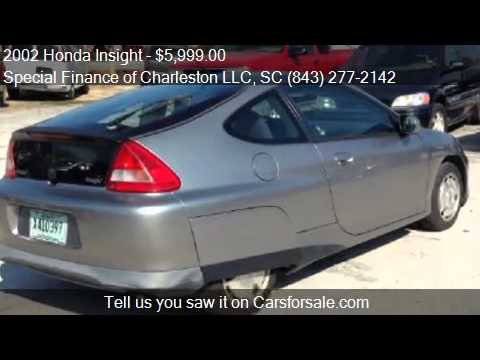 2002 Honda Insight for sale in Summerville, SC 29483 at the