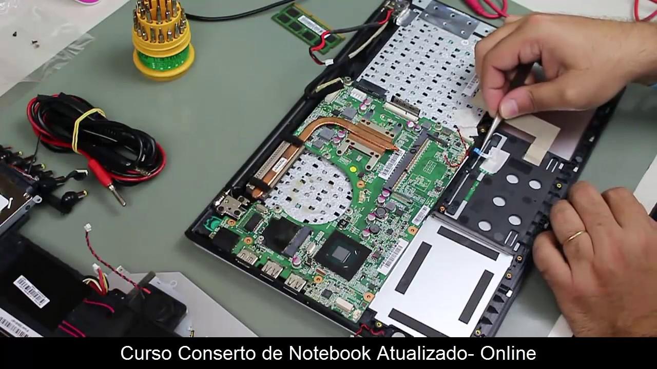 curso conserto de notebook