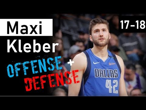 Maxi Kleber Mix - 2017-18 NBA Rookie Season Highlights - Dallas Mavericks