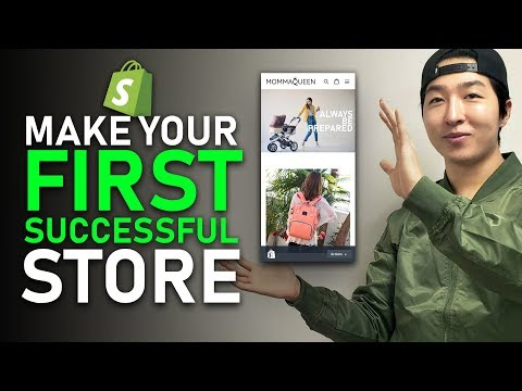 [HOW TO] Make Your First Successful Shopify Store - Product Research & Store Design thumbnail