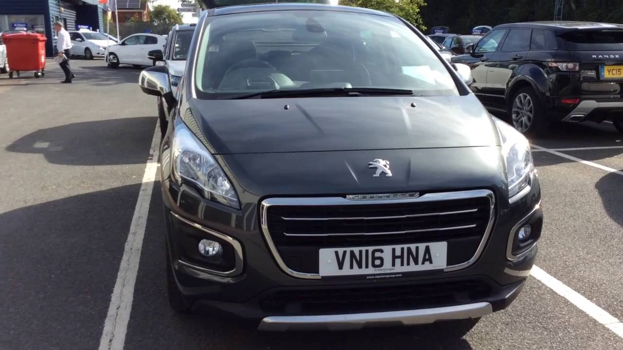 2016 Peugeot 3008 Crossover 1 6 Bluehdi 120 Allure S S Vn16 Hna At