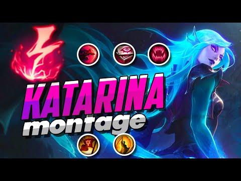 KATARINA MONTAGE | BEST KATARINA PLAYS S9 | THE ART OF ASSASSIN