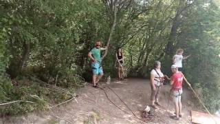 Прыжок со скалы Киселева. 01.07.2017