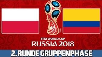 POLEN : KOLUMBIEN | 2. Runde Gruppenphase | FIFA WM 2018 Prognose