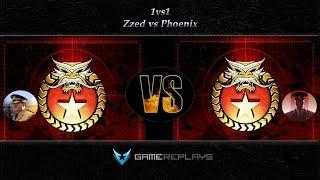 [C&C Zero Hour] Zzed vs Phoenix