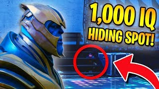 PLAYING HIDE AND SEEK WITH THANOS in Fortnite Battle Royale!