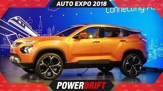 "Tata H5X is now ""Harrier"" : Auto Expo 2018 : PowerDrift thumbnail"
