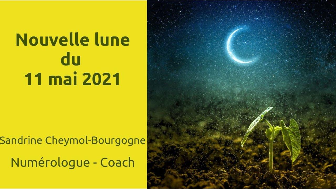 Les énergies de la nouvelle lune du 11-05-2021 en numérologie