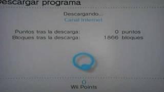 Guía para descargar el canal Internet -Wii-