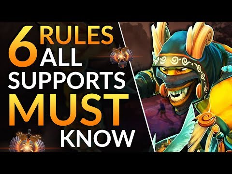Simple Tricks ALL SUPPORTS MUST KNOW - Pro Position 4 Tips To GAIN MMR | Dota 2 Support Guide