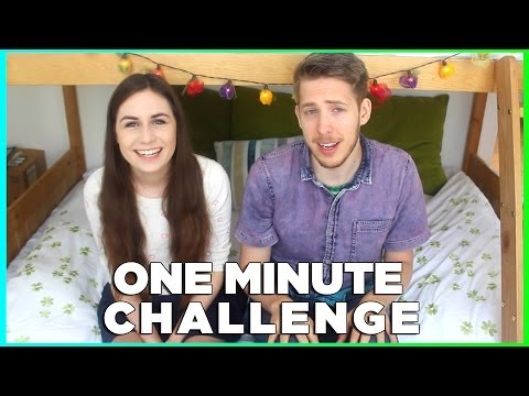 ONE MINUTE CHALLENGE! | doddleoddle & Evan Edinger