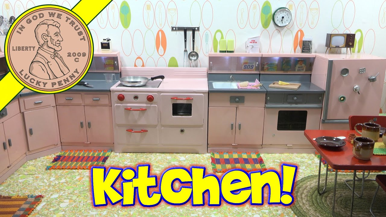 Mini Cooking Channel Announcement, First Look Complete Kitchen!   YouTube