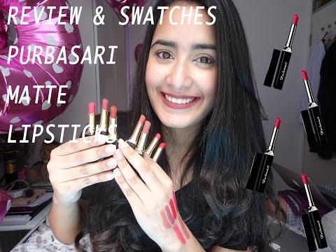 purbasari-matte-lipstick-review-&-swatches-|-bahasa-indonesia-|-prisya-thalia-basir