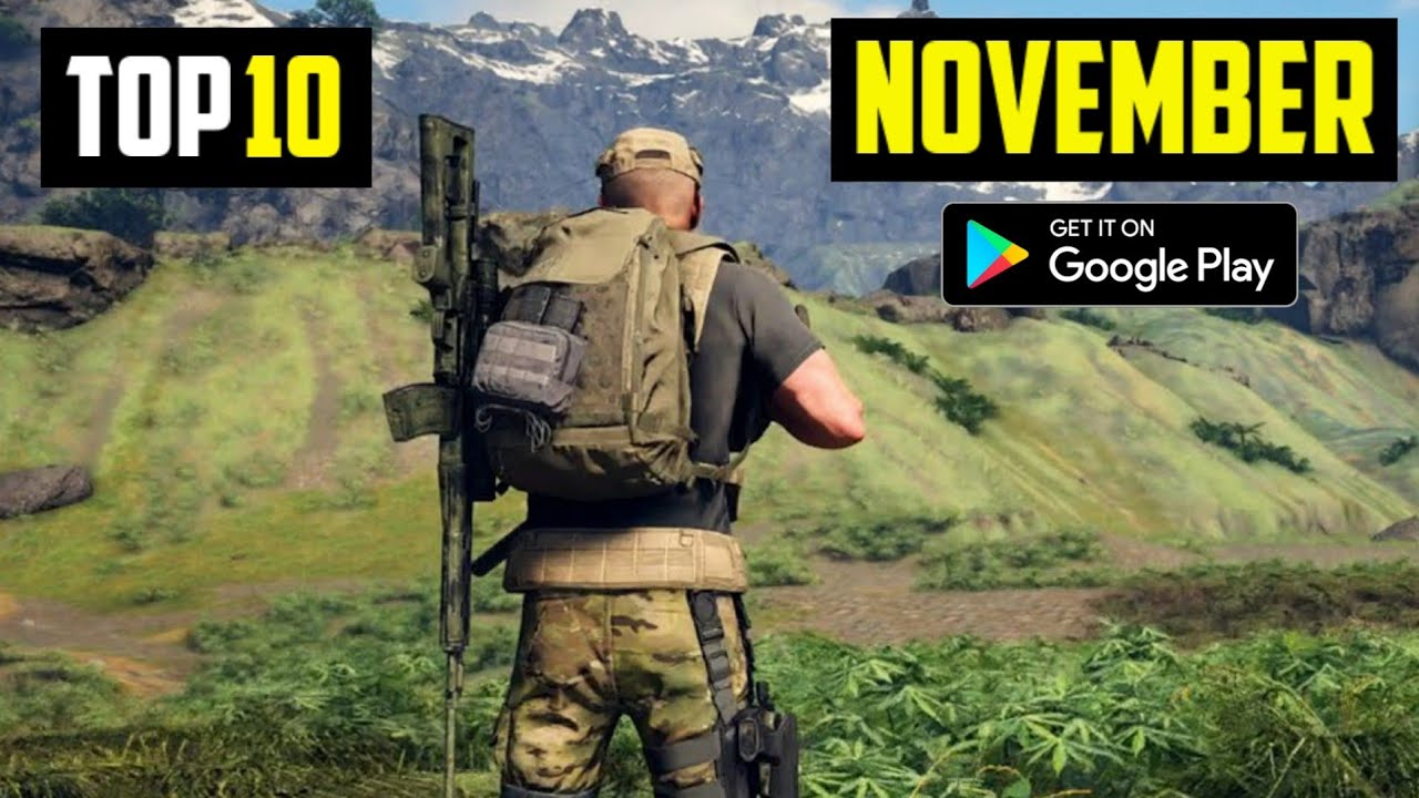 TOP 10 NEW ANDROID GAMES IN NOVEMBER 2020 | HIGH GRAPHICS (Offline/Online)