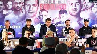 Eddie Hearn & Matchroom Boxing Robbie Davies Jr vs Lewis Ritson FULL PRESS CONFERENCE