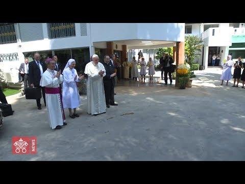 Exclusive Video Vatican Media highlights - Pope Francis' Apostolic Journey to Thailandia 2019.11.21