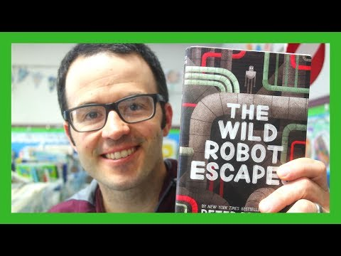 The Wild Robot Escapes by Peter Brown | Book Talk