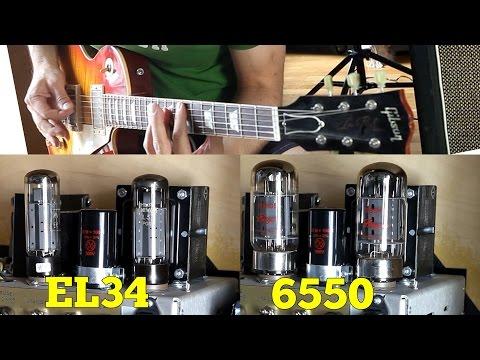 EL34 Vs 6550 - Power Tube Comparison - YouTube
