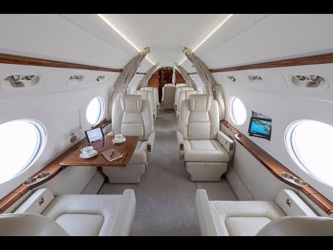這架全球最貴私人飛機有高顏值空姐和五星級服務,租金一小時18萬