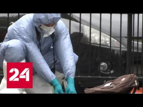 Мужчина с ножами, задержанный в Лондоне, подозревается в терроризме