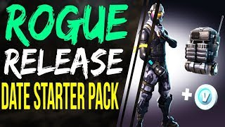 Fortnite Battle Royale STARTER PACK RELEASE DATE and How to Get the ROGUE Agent Outfit Skin