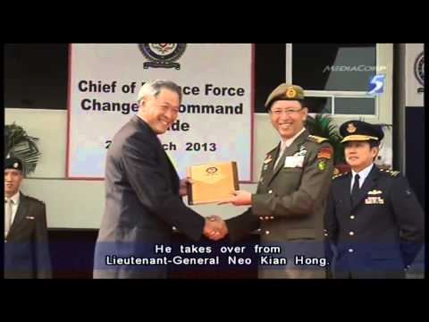 MG Ng Chee Meng is new Chief of Defence Force for SAF - 27Mar2013