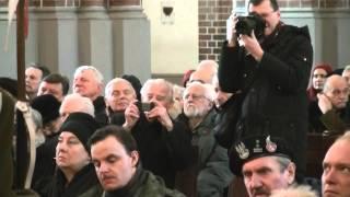 BOHDAN PORĘBA - KAZANIE NA MSZY POGRZEBOWEJ 07-02-2014 KATEDRA WARSZAWSKO-PRASKA