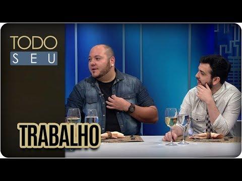 Bate-papo Com Rodrigo Cáceres E Rominho Braga - Todo Seu (30/01/18)