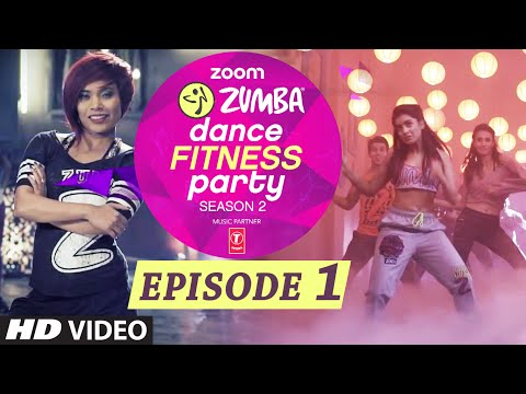 Zoom Zumba Dance Fitness Party Season 2 - Epi 1| Pallavi Sharda, Alesia Raut, Sucheta Pal | T-Series