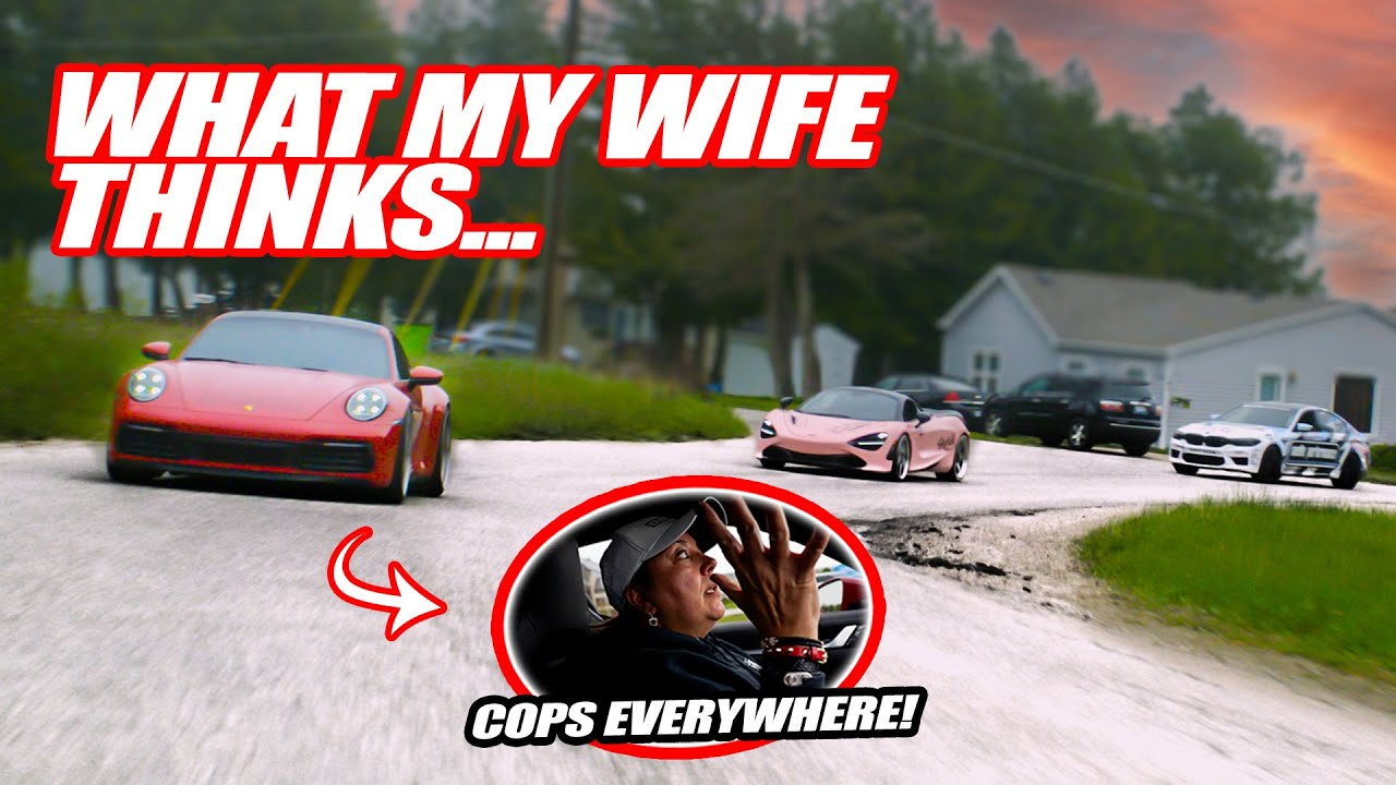 MY WIFE'S 1ST TIME DRIVING HER PORSCHE 911 ON SAVAGE RALLY!! *MRS. SAVAGE*
