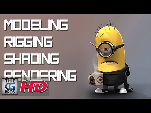 "CGI Modeling Tutorial HD: ""Modeling Minion: Part - 1""  by - Edge3D"