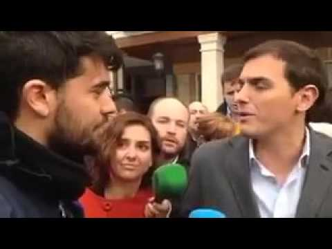 """Rivera carga contra un joven que le criticó por el contrato único: """"No tienes ni idea"""""""
