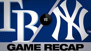 Tanaka's shutout leads Yankees | Rays-Yankees Game Highlights 6/17/19