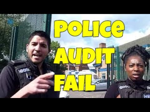 Police Audit Fail UK - Eerily Similar To Some US First Amendment Audit Fails