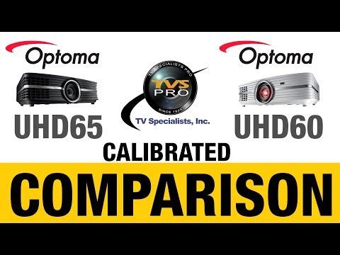 Optoma UHD60 vs UHD65 Calibrated Comparison! (Please view 4K