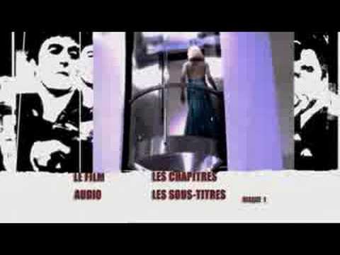 Scarface DVD Root Menu Intro HQ-DVD