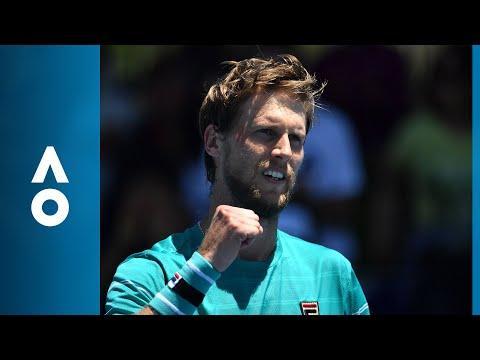 Yoshihito Nishioka v Andreas Seppi match highlights (2R)   Australian Open 2018
